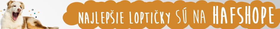 Najlepšie loptičky pre psa | Hafshop.sk