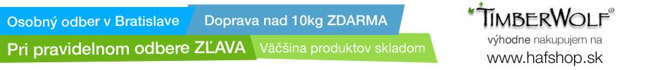 Timberwolf krmivo | Hafshop.sk